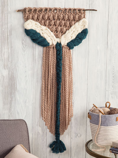 Serenity Wall Hanging Crochet Pattern