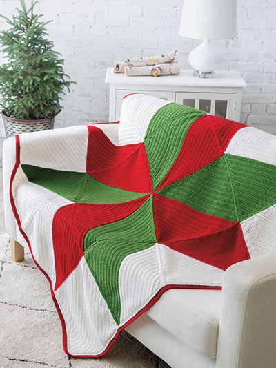 Christmas Star Throw Crochet Pattern