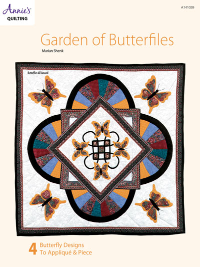 Garden of Butterflies Quilt Pattern