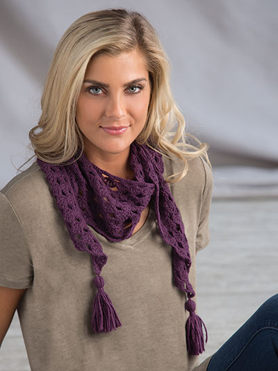 Little Luxury Scarf Crochet Pattern