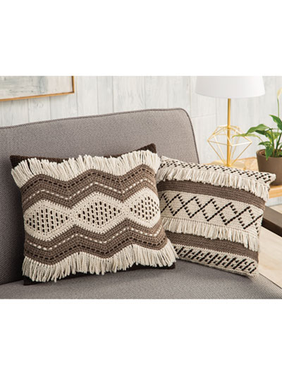 Mali Tribal Pillows Crochet Pattern