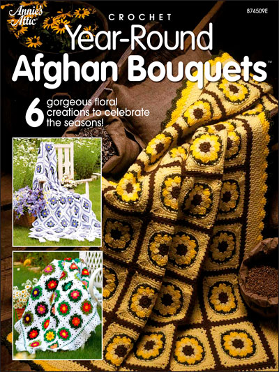Year-Round Afghan Bouquets
