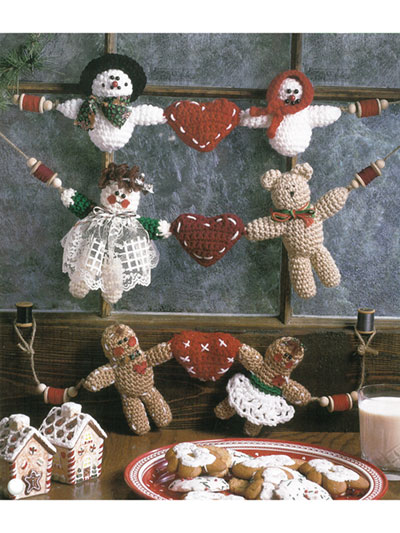 Yuletide Garlands Crochet Pattern