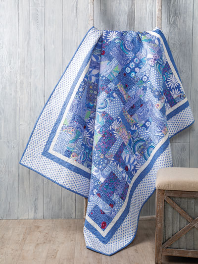 I've Got the Blues Quilt Pattern