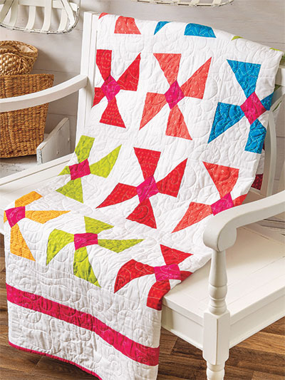 Diamond Pinwheels Quilt Pattern