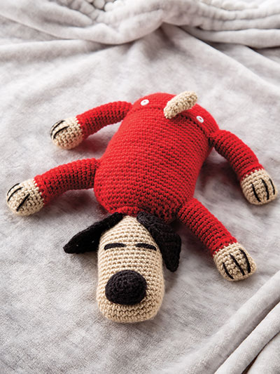 Christmas Puppy Crochet Pattern