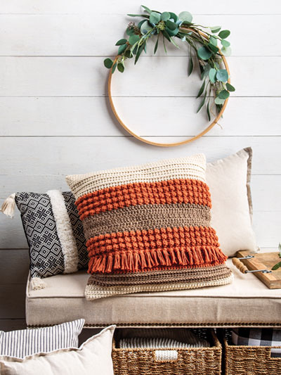 Sampler Pillow Crochet Pattern