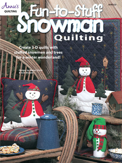 Fun-to-Stuff Snowman Quilting Pattern