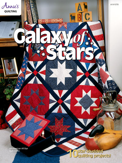 Galaxy of Stars Quilt Pattern