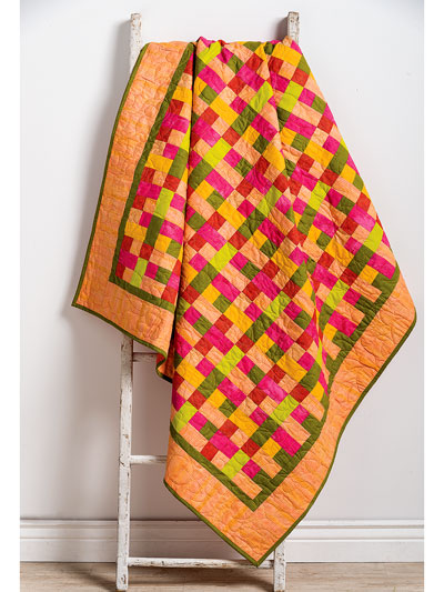 Mad for Madras Quilt Pattern