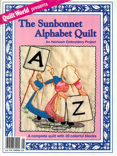 The Sunbonnet Alphabet Quilt Pattern