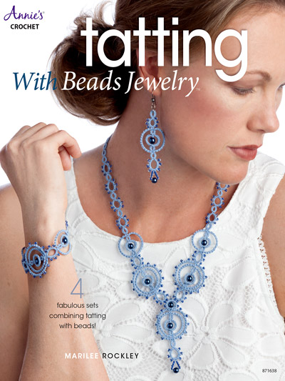 Tatting With Beads Jewelry Crochet Pattern