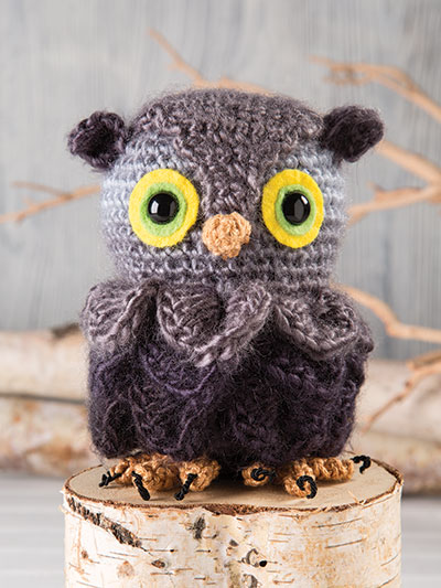 Little Owl Crochet Pattern