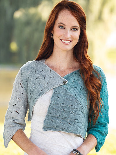 Laviere Shrug Knit Pattern