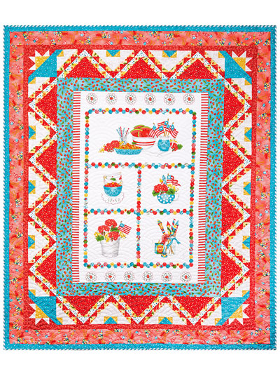 Let's Party Quilt Pattern