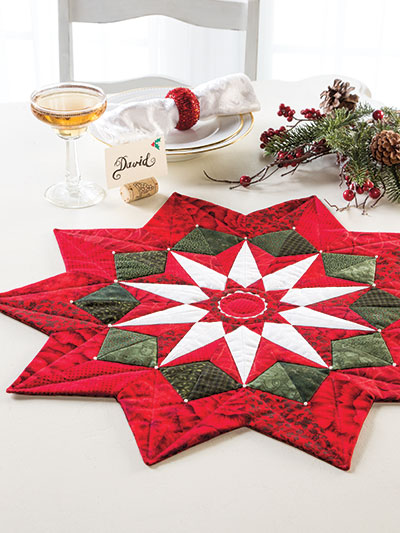 Star Table Topper Quilt Pattern