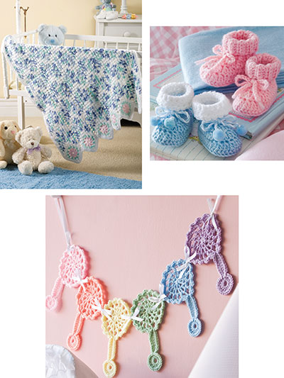 Easy-To-Crochet for Baby! Pattern