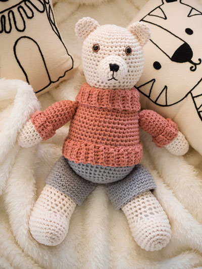 Mr. Bear Crochet Pattern