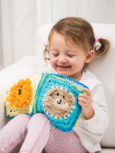 Peekaboo Quiet Book Crochet Pattern