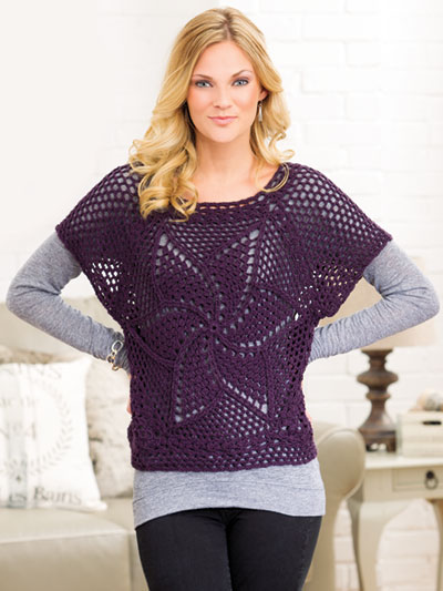 Wetherell Pullover Crochet Pattern