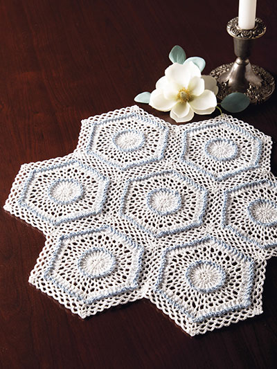 Celebration Doily Crochet Pattern