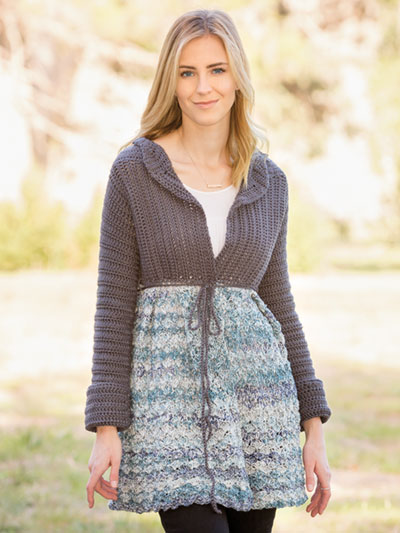 Pick-Me-Up Cardi Crochet Pattern