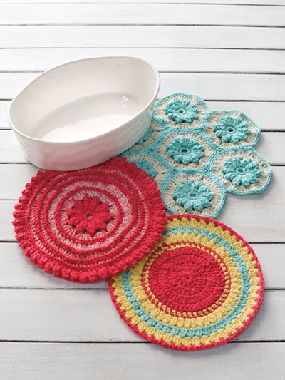 Handy Hot Mats Crochet Pattern