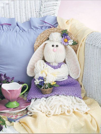 Mop Doll Bunny Crochet Pattern