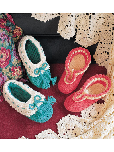 Cozy Slippers Crochet Pattern