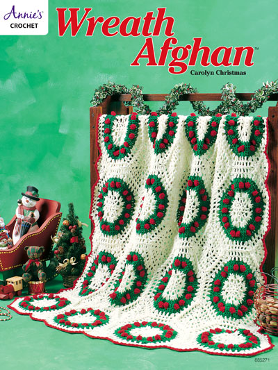 Wreath Afghan Crochet Pattern