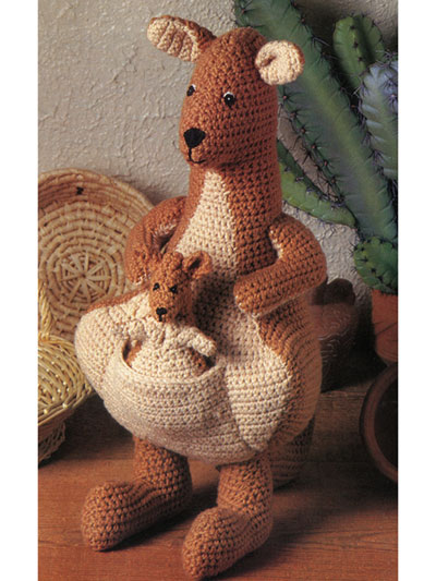 Mama and Joey Crochet Pattern