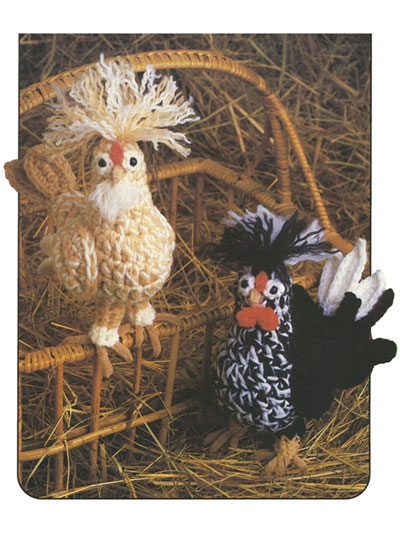 Farmhouse Chickens Crochet Pattern
