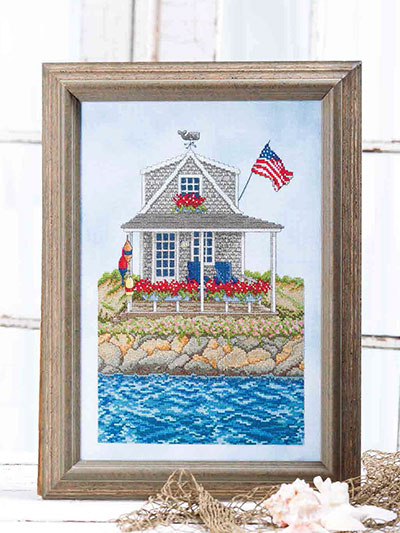 Cape Cod Summer Cross Stitch Pattern