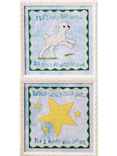 Nursery Rhymers Cross Stitch Pattern