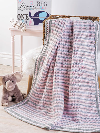 Belcrest Baby Blanket Crochet Pattern