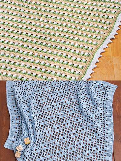 Easy Baby Afghans Crochet Pattern