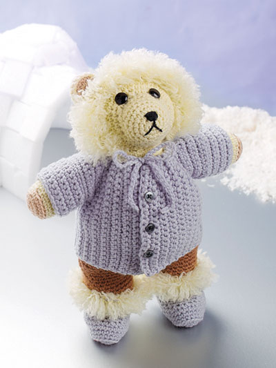 Eskimo Bear Crochet Pattern