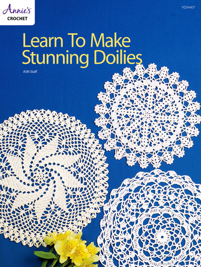 Learn To Make Stunning Doilies Crochet Pattern
