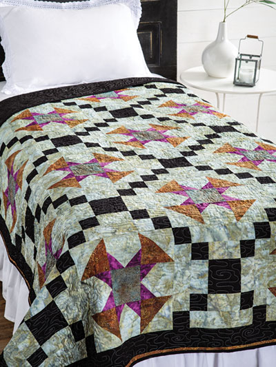 EXCLUSIVELY ANNIE'S QUILT DESIGNS: Celtic Crosses Quilt Pattern