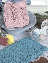 Colorful Knitted Dishcloths