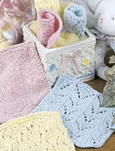 Knitted Baby Bath Cloths