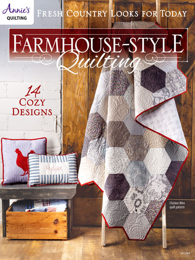 Farmhouse-Style Quilting Pattern Book