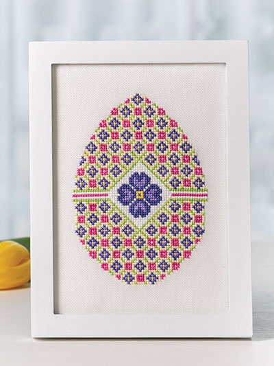 Ornate Easter Egg Pattern