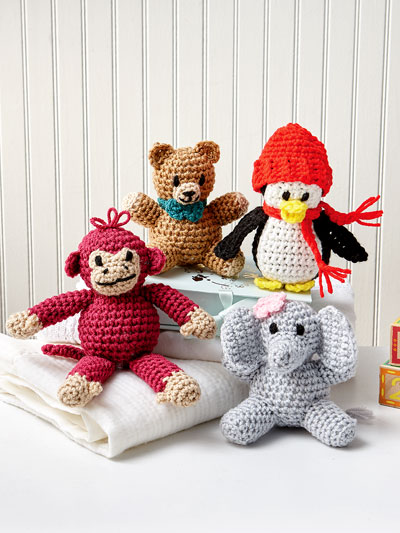 Little Buddies Crochet Pattern