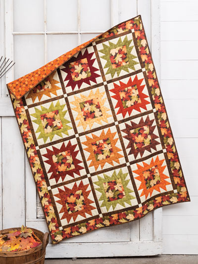 EXCLUSIVELY ANNIE'S QUILT DESIGNS: Fall Portrait Quilt Pattern