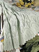 Light & Airy Lace Afghan