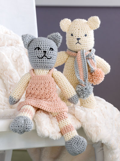 Cuddle Buddies Crochet Pattern