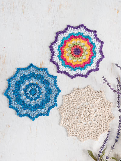 Three-In-One-Doily Crochet Pattern