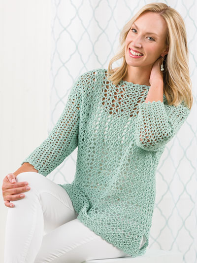 Spring Breeze Tunic Crochet Pattern