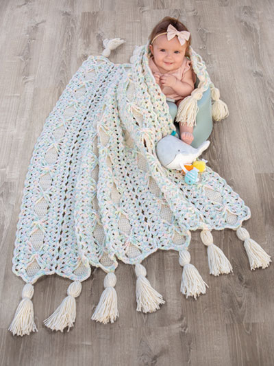 Pastel Ribbons Crochet Pattern